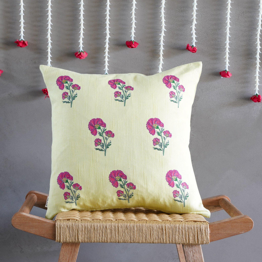Alia Floral Cushion Cover