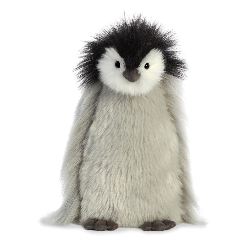 NEW AURORA PLUSH LUXE BOUTIQUE MILLY GREY PENGUIN 03510 QUALITY TOY