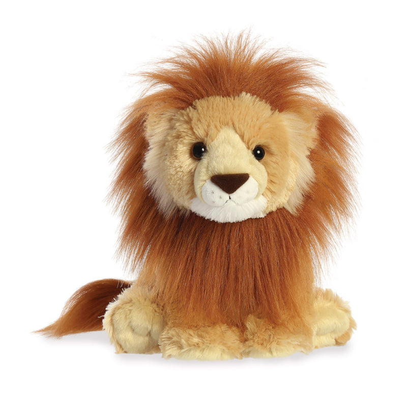 "AURORA PLUSH 11"" DESTINATION NATION LION 19267 CUDDLY SOFT TOY"