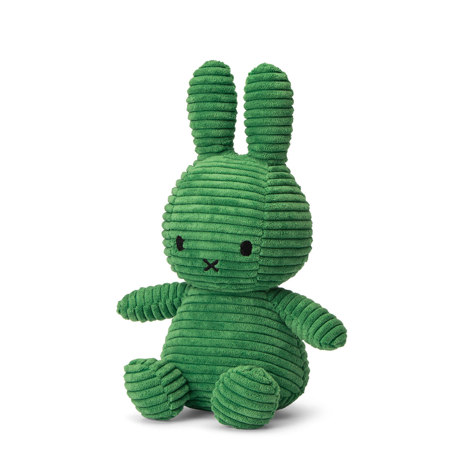 OFFICIAL MIFFY NIJNTJE CORDUROY SPRING GREEN SOFT TOY PLUSH DICK BRUNA