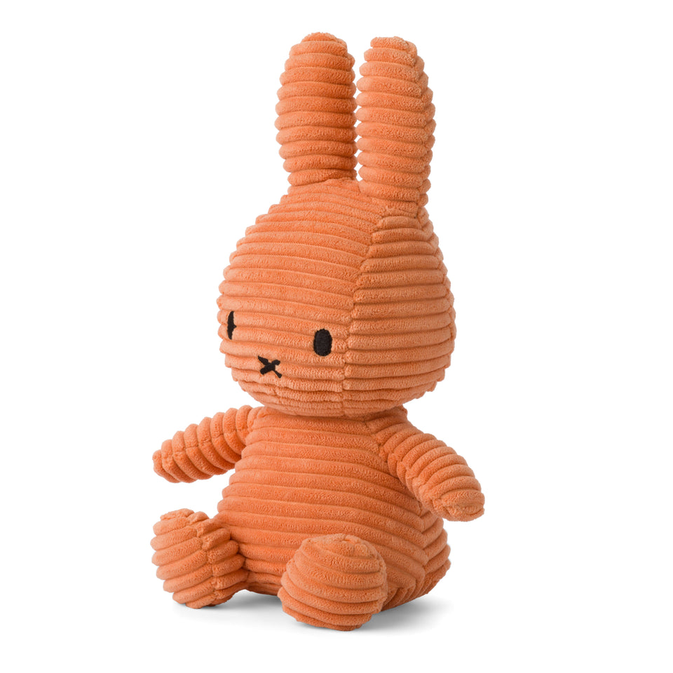 OFFICIAL MIFFY CORDUROY PUMPKIN SOFT TOY PLUSH DICK BRUNA