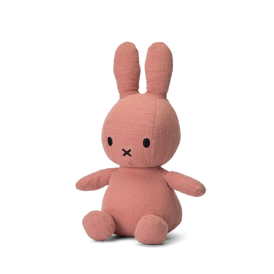 OFFICIAL MIFFY NIJNTJE MOUSSELINE PINK SOFT TOY PLUSH DICK BRUNA