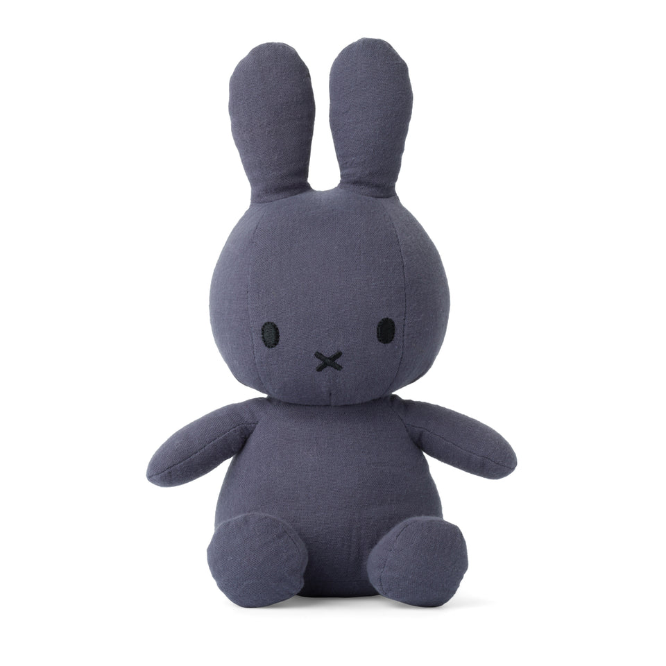 OFFICIAL MIFFY NIJNTJE MOUSSELINE FADED BLUE SOFT TOY PLUSH DICK BRUNA