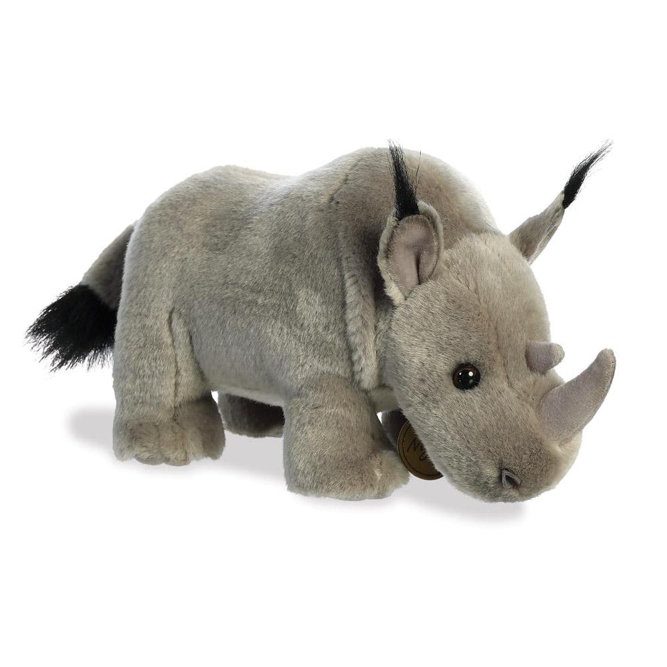 AURORA MIYONI PLUSH RHINOCEROS CUDDLY RHINO SOFT TOY