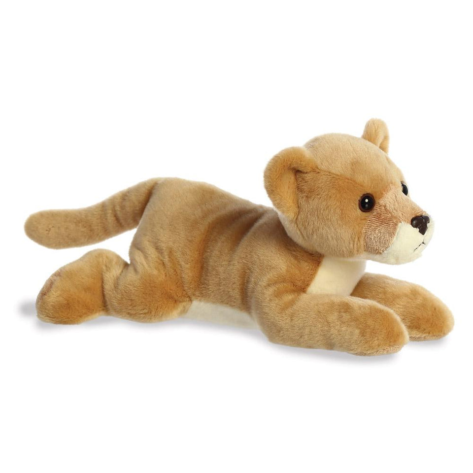 "AURORA PLUSH FLOPSIE LEAH LIONESS 12"" CUDDLY SOFT STUFFED TOY LION"