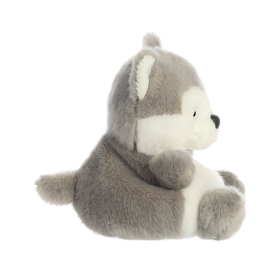 "AURORA BUSKY HUSKY 5"" PLUSH PALM PALS DOG 33474 QUALITY SOFT TOY"