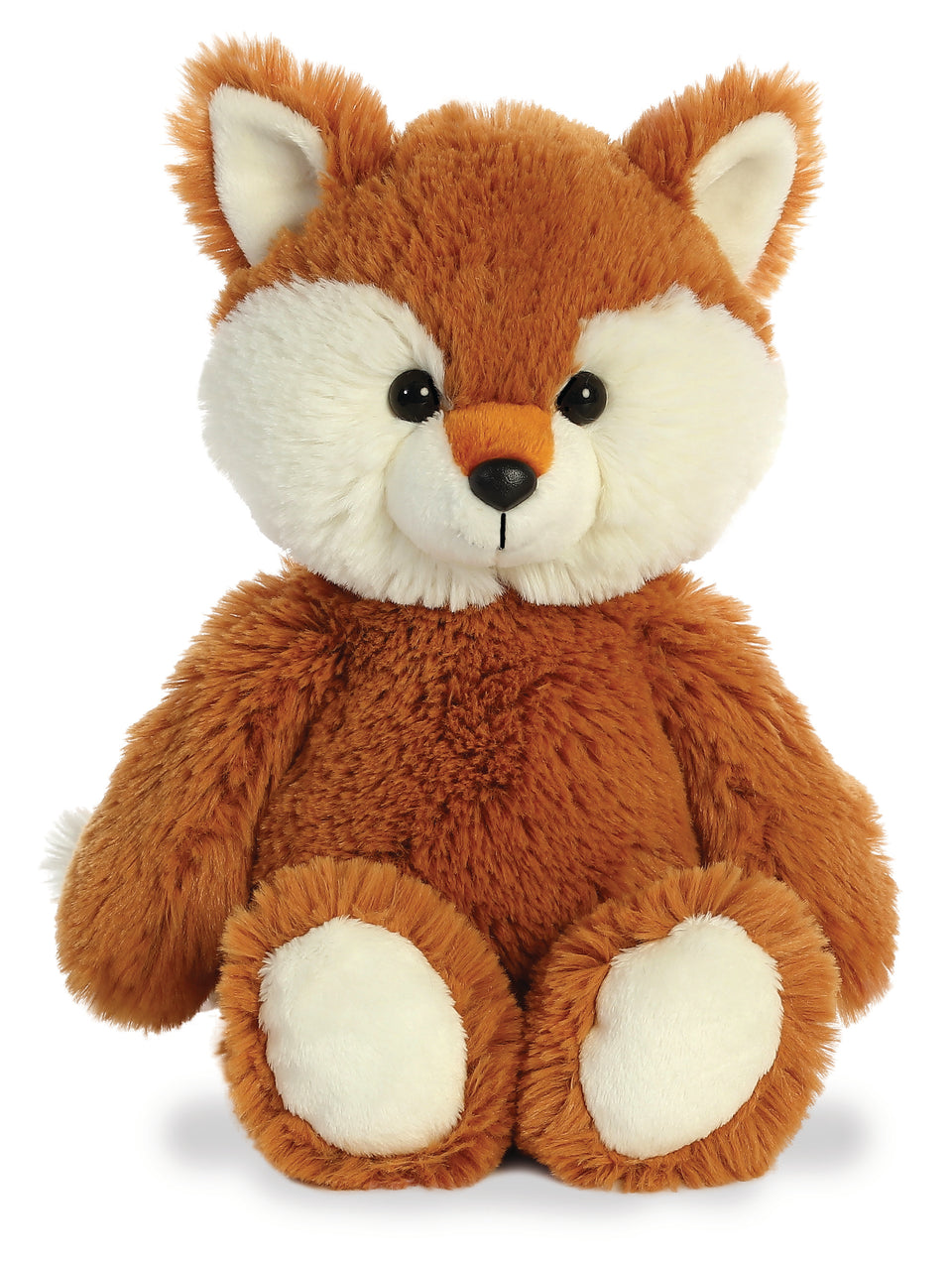 "AURORA CUDDLY FRIENDS PLUSH 12"" FOX 34215 CUDDLY QUALITY SOFT TOY TEDDY"