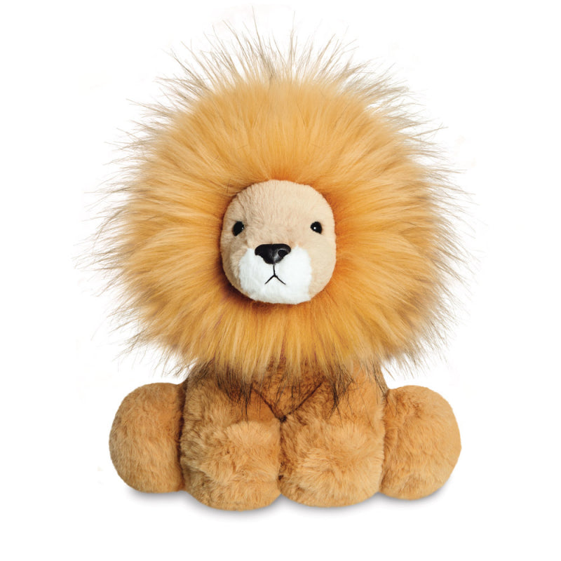 "AURORA PLUSH 12"" LUXE BOUTIQUE ZAHARA LION CUDDLY QUALITY SOFT TOY"
