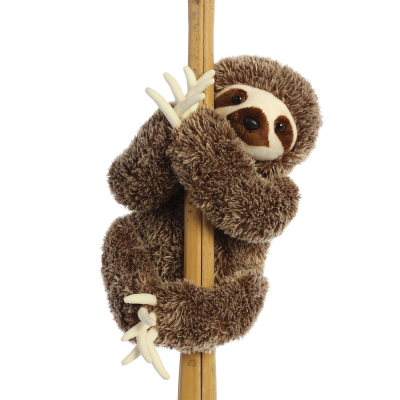 "AURORA PLUSH DESTINATION NATION SLOTH 18"" CUDDLY 80925 SOFT TOY"