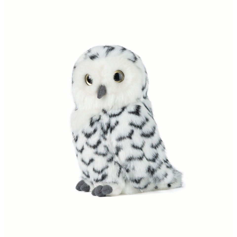 LIVING NATURE SNOWY OWL AN359 WITH 360 DEGREE TURNING HEAD