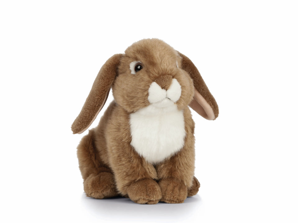 LIVING NATURE FRENCH LOP EARED RABBIT AN472 SOFT PLUSH TOY