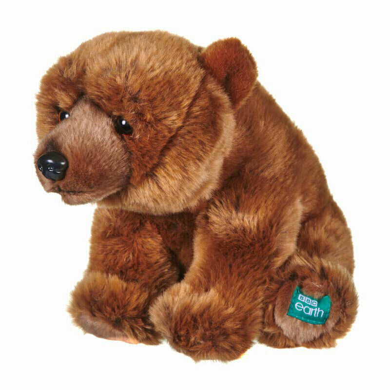 "BBC 12"" PLANET EARTH GRIZZLY BEAR 12452 PLUSH SOFT TOY"
