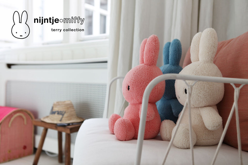 MIFFY NIJNTJE TERRY CREAM SOFT PLUSH TOY DICK BRUNA COLLECTABLE