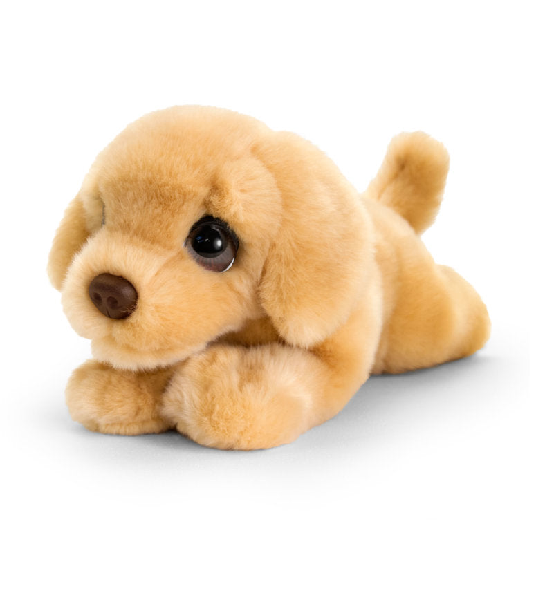 KEEL SIGNATURE 25cm CUDDLE PUPPY LABRADOR DOG SOFT PLUSH TOY