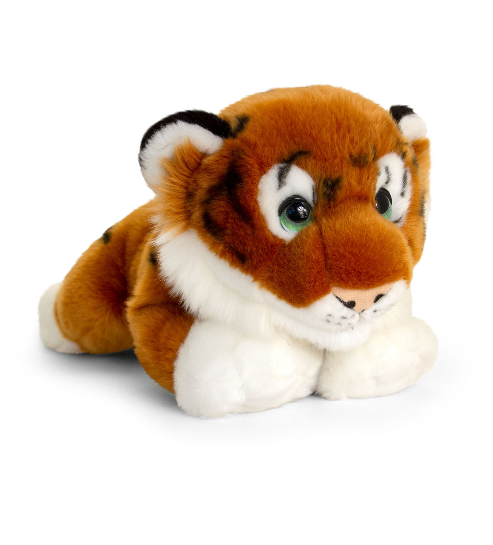 KEEL 32cm SIGNATURE CUDDLE WILD TIGER CAT SOFT CUDDLY PLUSH TOY