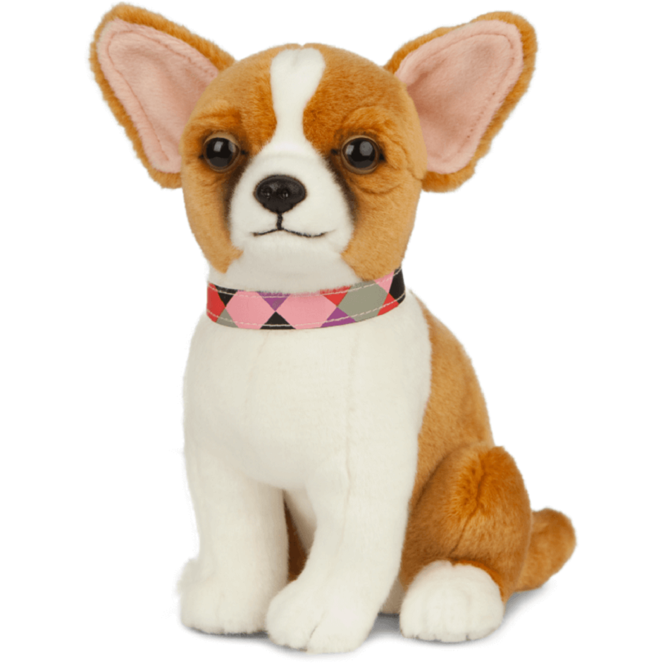LIVING NATURE CHIHUAHUA DOG AN513 PUPPY SOFT TOY PLUSH