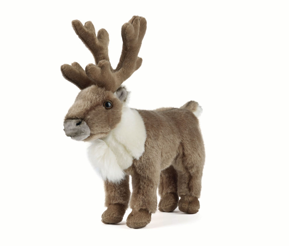 LIVING NATURE REINDEER AN236 DEER FAWN CUDDLY PLUSH SOFT TOY