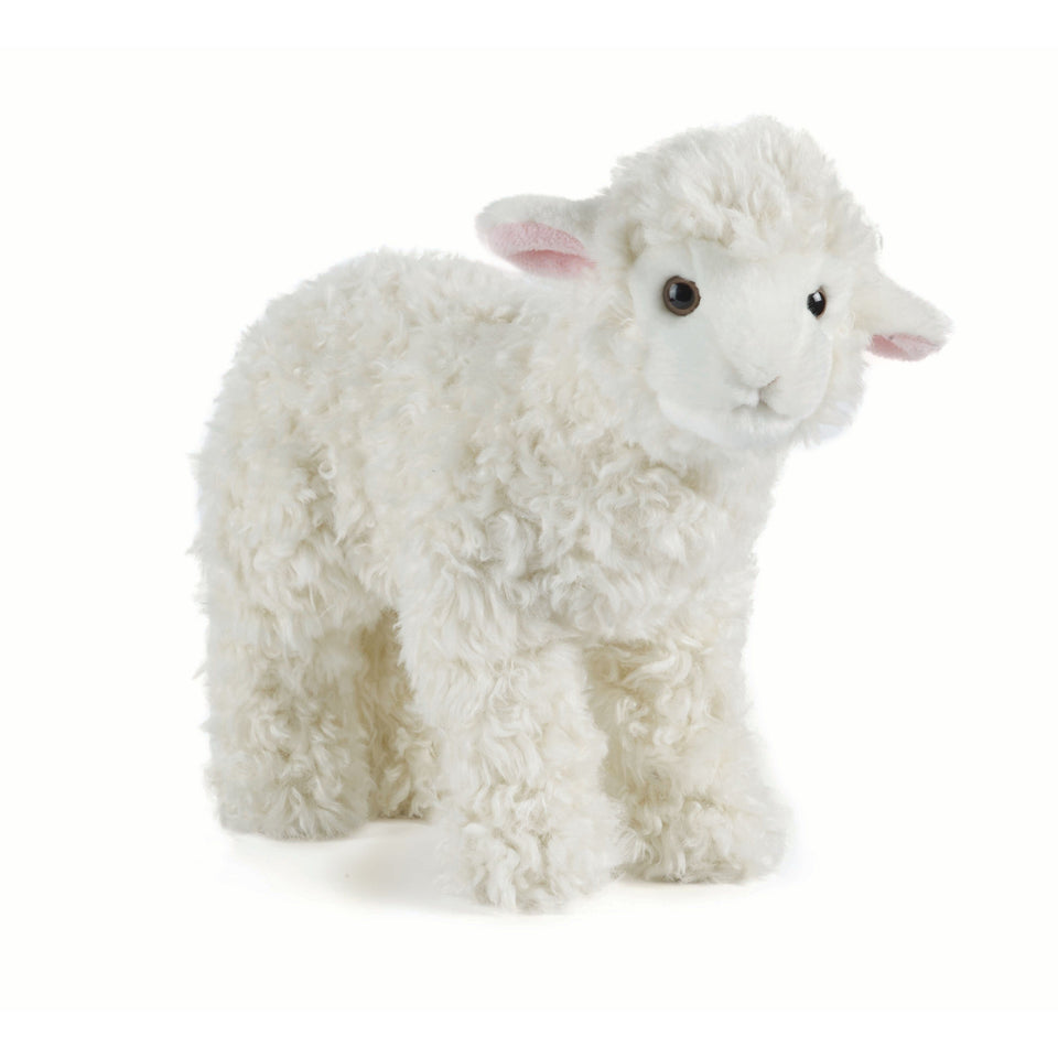 LIVING NATURE LAMB AN340 SOFT CUDDLY PLUSH SHEEP CUTE TOY
