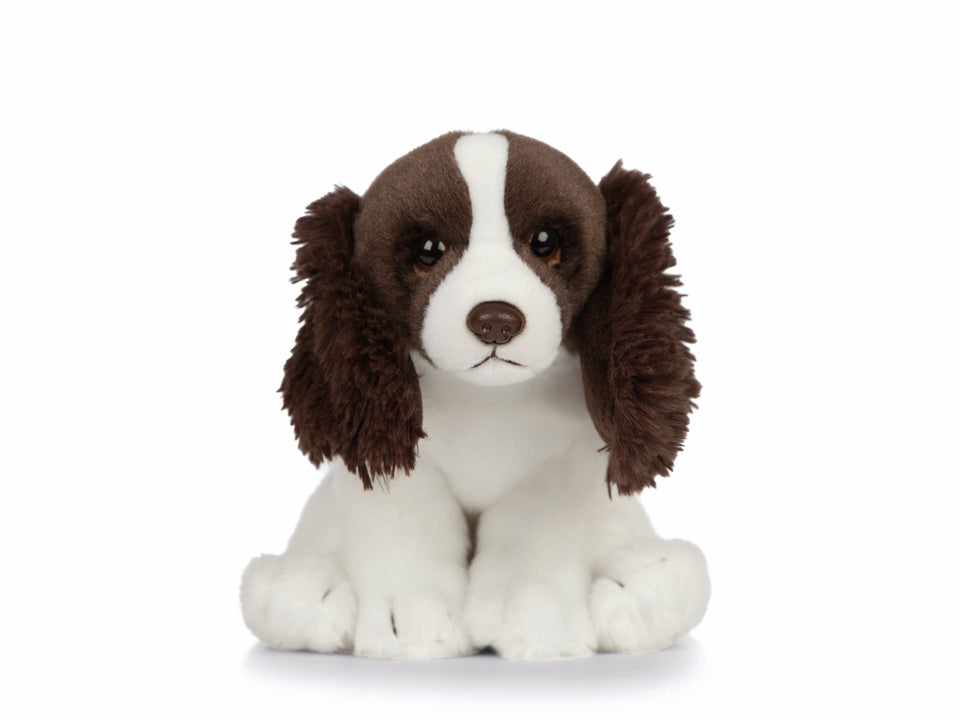 LIVING NATURE ENGLISH SPRINGER SPANIEL DOG AN436 PUPPY PLUSH