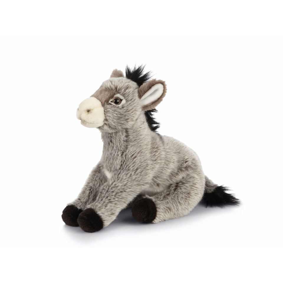 LIVING NATURE DONKEY AN465 SOFT CUDDLY CUTE STUFF PLUSH TEDDY TOY