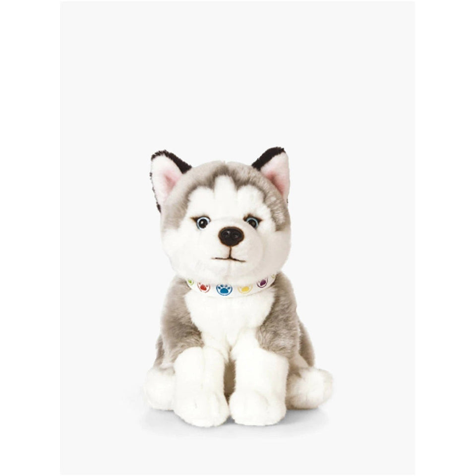 LIVING NATURE HUSKY PUPPY AN524 SOFT PLUSH DOG TOY