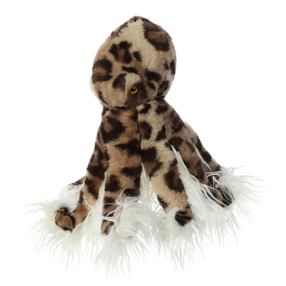 "NEW AURORA PLUSH OLYMPUS OCTOPUS 16"" LUXE BOUTIQUE 03508 SOFT TOY"