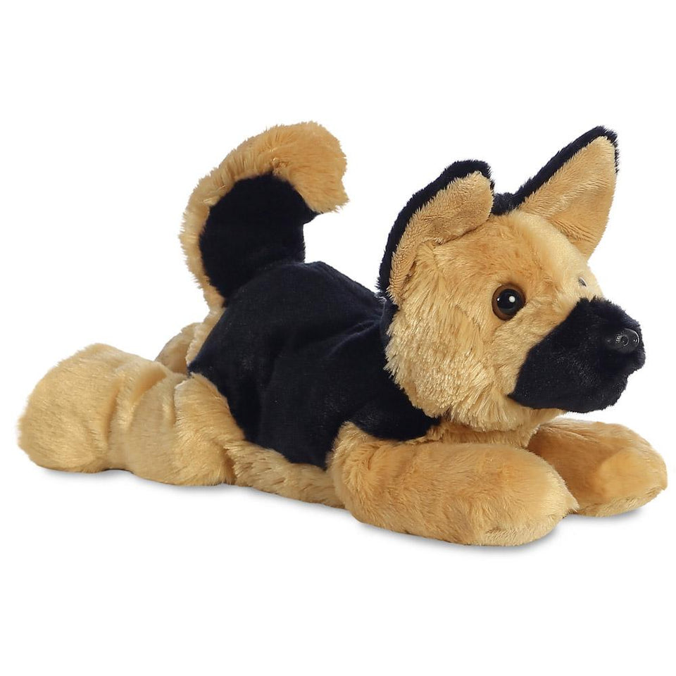"AURORA 12"" FLOPSIE PLUSH GERMAN SHEPHERD 31536 DOG CUDDLY SOFT TOY"