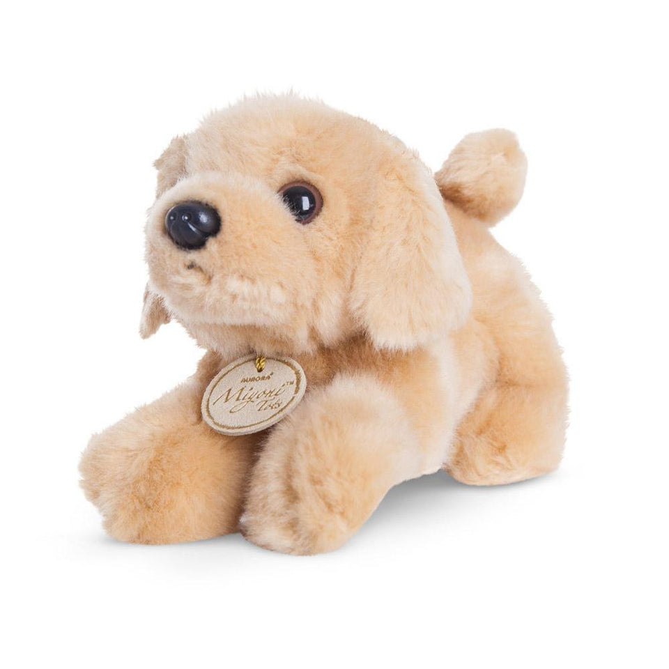 "AURORA GOLDEN LABRADOR 8"" MIYONI TOTS 60470 PLUSH DOG SOFT TOY"