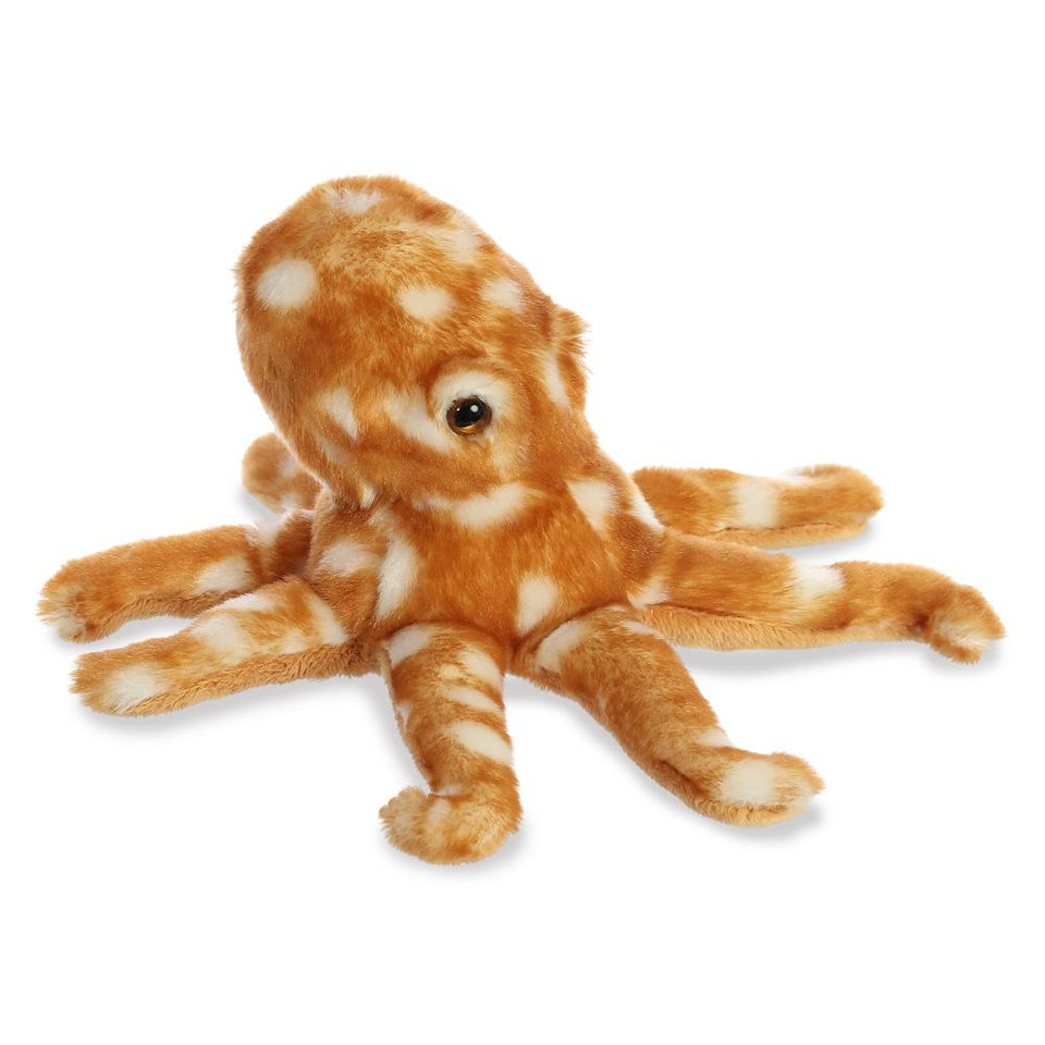 "NEW AURORA 8"" MINI FLOPSIE PLUSH ATLANTIC OCTOPUS 31764 SOFT TOY"
