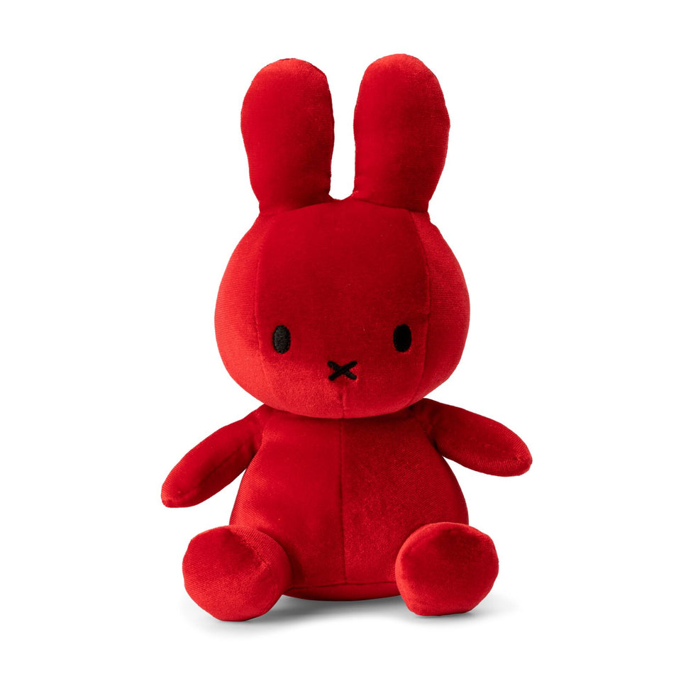 MIFFY VELVET CANDY RED NIJNTJE DICK BRUNA SOFT TOY PLUSH