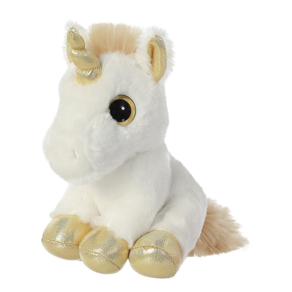 "AURORA 7"" SPARKLE TALES PLUSH TWINKLE UNICORN 60836 CUDDLY SOFT TOY"