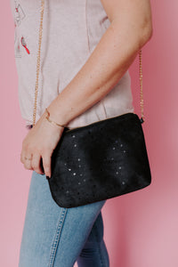 Dulce Clutch & Chain in Confetti