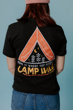 Load image into Gallery viewer, Camp Wild Tee - Black