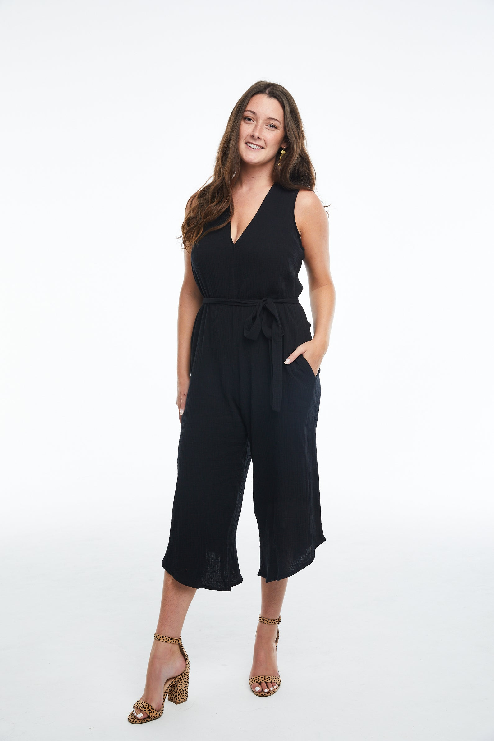 Black Everyday Jumpsuit