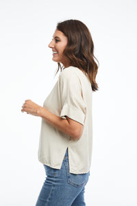 Everyday Tencel T-Shirt in Ivory