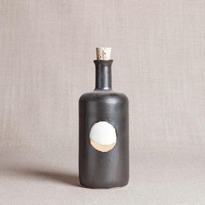Black Waxing the Moon Bottle - The Red Lark Shop