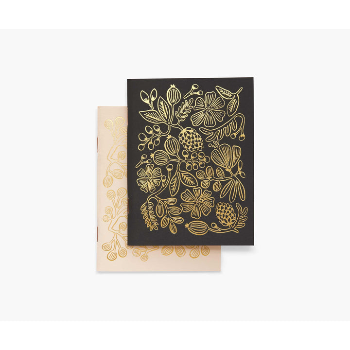 Black & Gold Foil Pocket Notebooks
