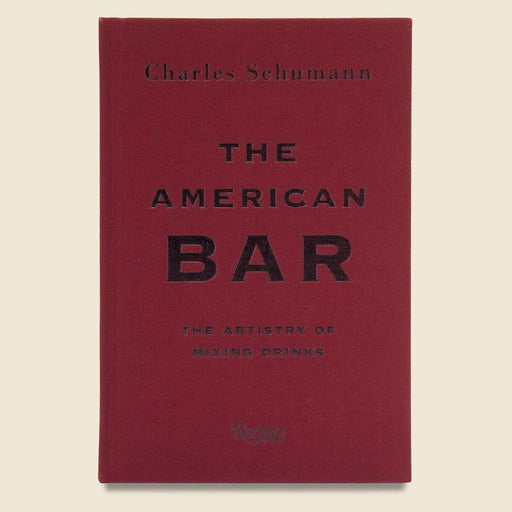 The American Bar by Charles Schumann - The Red Lark Shop