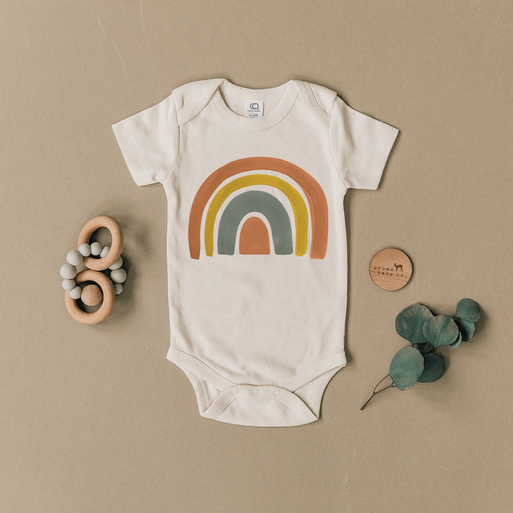 Dark Rainbow Onesie