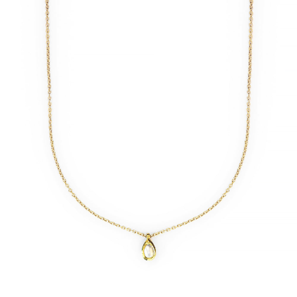 Pearl Teardrop Necklace - The Red Lark Shop