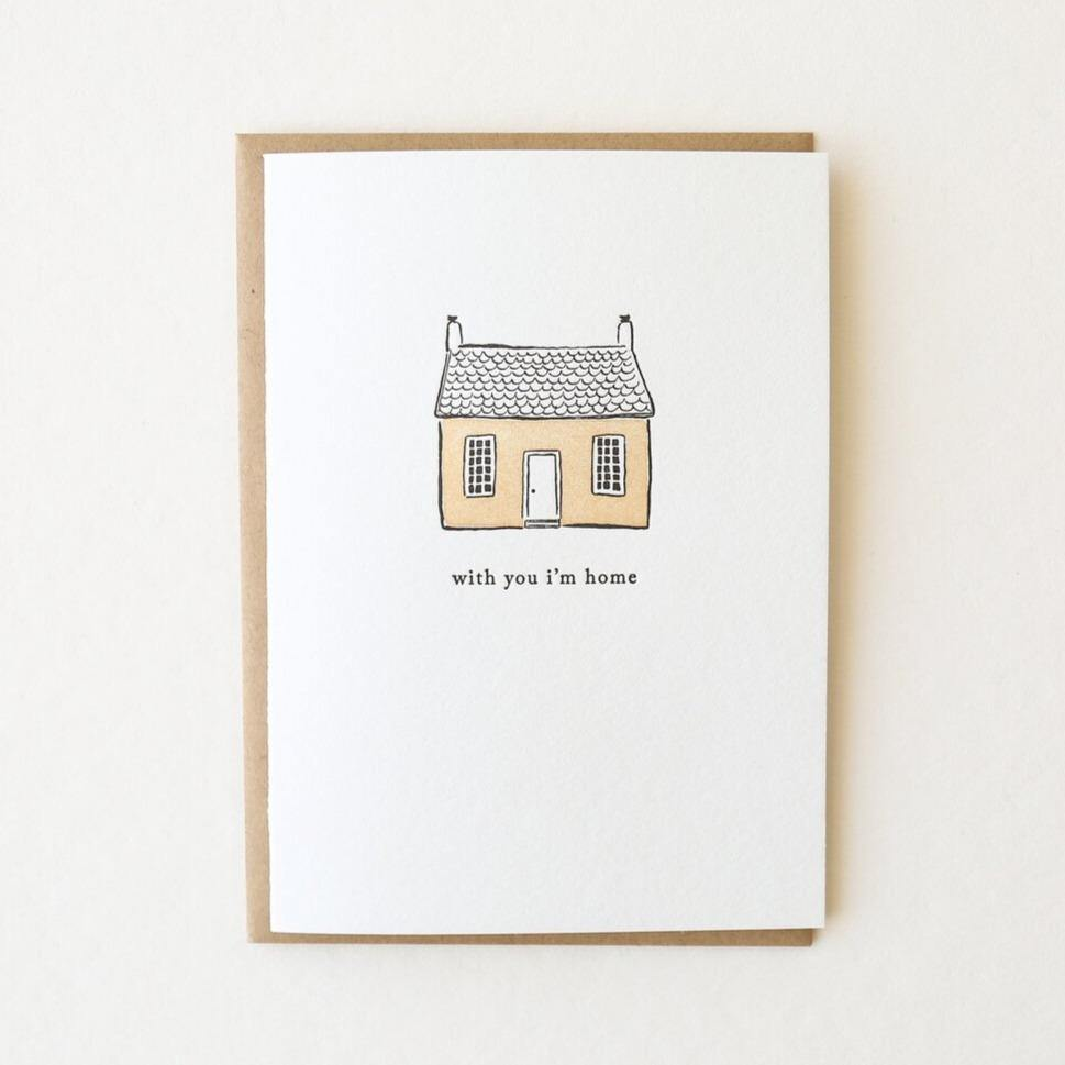 With You I'm Home - The Red Lark Shop