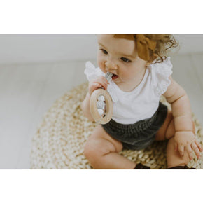 Dreamcatcher Teether: Moonstone - The Red Lark Shop