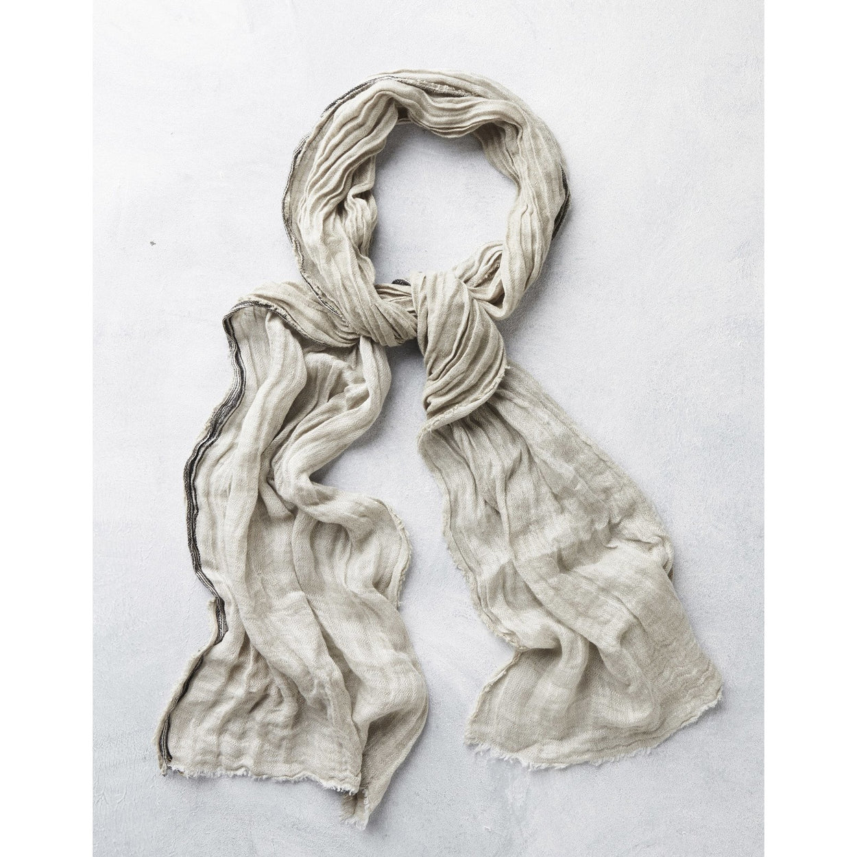 Leyla Linen Scarf - The Red Lark Shop