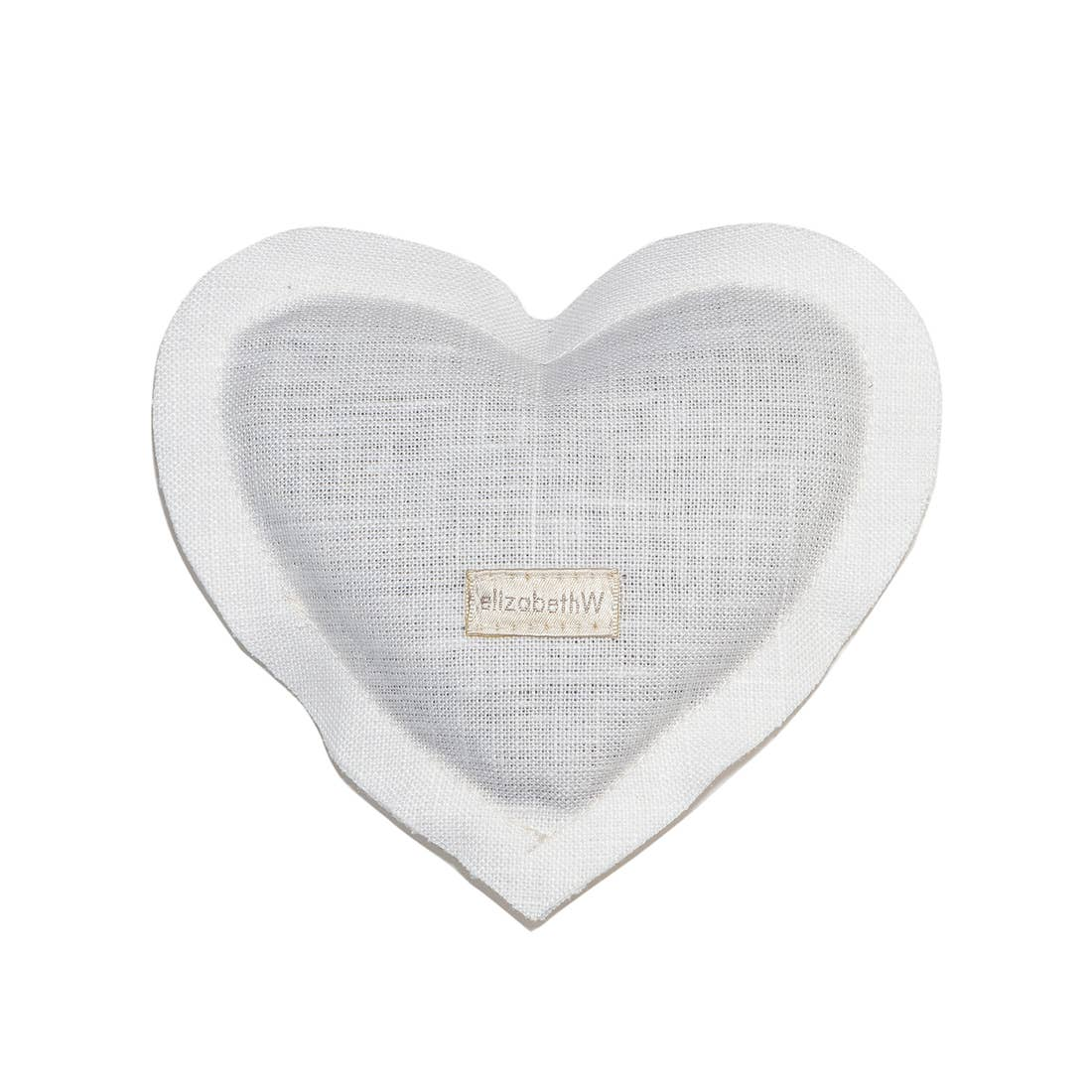 Linen Heart Lavender Sachet - The Red Lark Shop