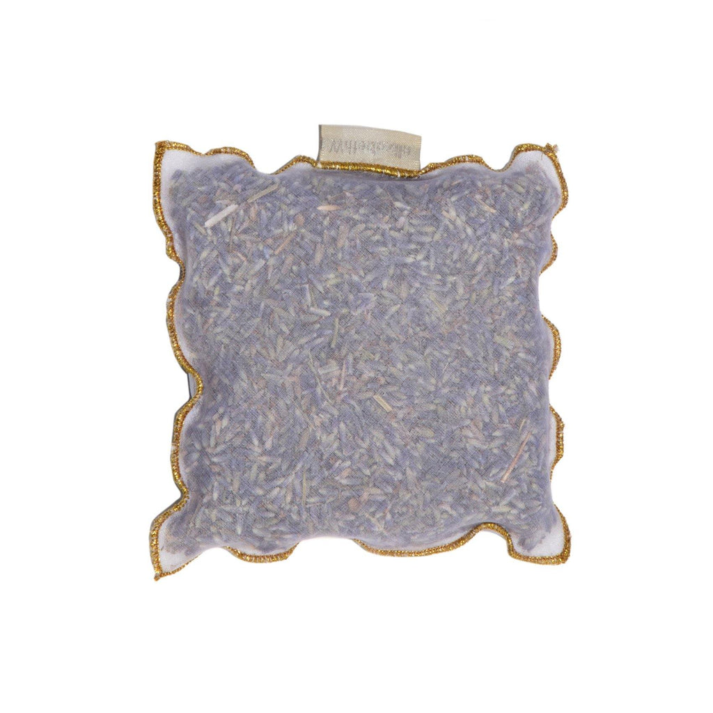 Lavender Sachet with Gold Edge - The Red Lark Shop