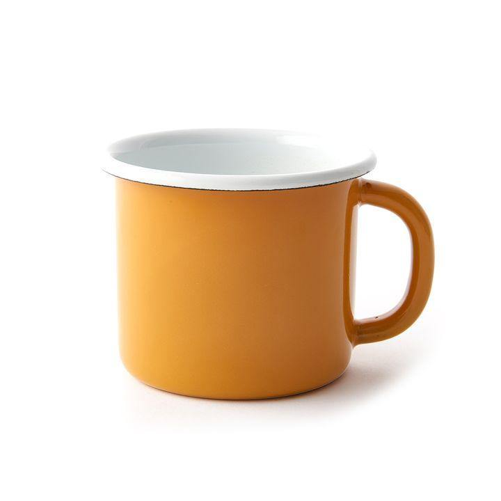 Enamelware Mug - Pumpkin - The Red Lark Shop