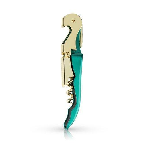 Emerald and Gold Corkscrew