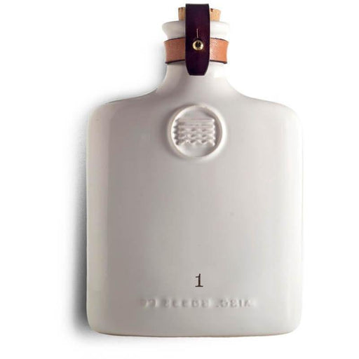 Ivory Ceramic Flask - The Red Lark Shop