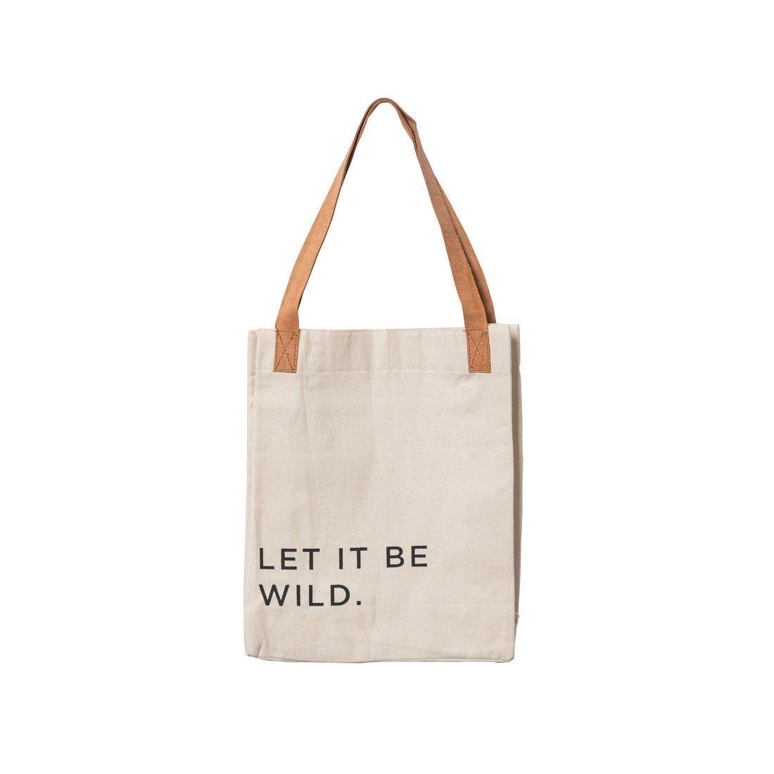 Let It Be Wild Tote - The Red Lark Shop
