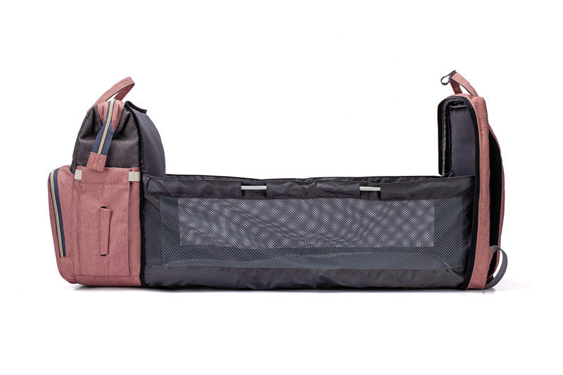Ultimate Diaper Bag - Expander 2.0 Side View Open